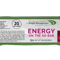 ENERGY ON THE GO BAR  /  12 delicious bars per box