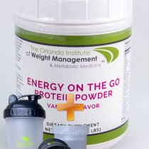 Energy on the Go Protein Powder Vanilla Flavor + FREE Shake bottle